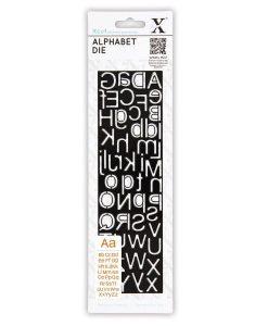 Die Fustella Scrapbook Lettere Alfabeto