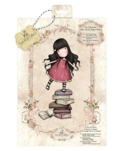 Gorjuss Pack Confezione Scrapbook Decoupage Die-Cuts