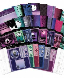 Kit per Cardmaking - Twilight Kingdom Scrapbook Cartoncino Acetato Shadow Box Twilight Kingdom