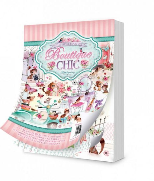 Paper Pad Boutique Chic Scrapbook Carta
