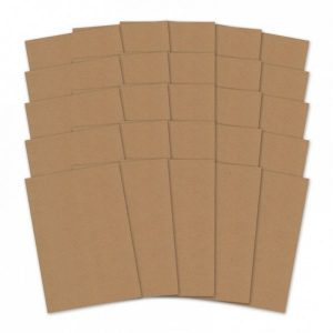 Cartoncino Kraft A4 280gsm Scrapbook Cardcraft Decoupage Scrapbooking Scrappers