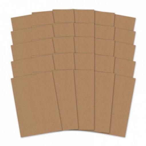 Blocchetto Cartoncino Kraft Scrapbook Cardcraft Decoupage Scrapbooking Scrappers