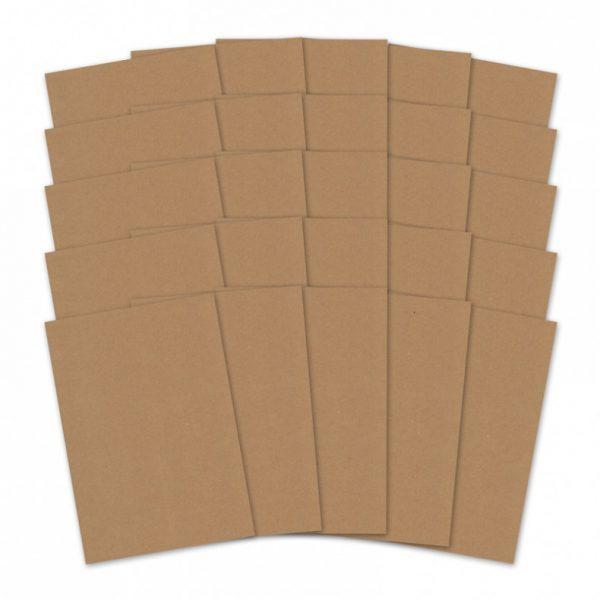 Cartoncino Kraft A4 280gsm Scrapbook Cardcraft Decoupage Scrapbooking Scrappers