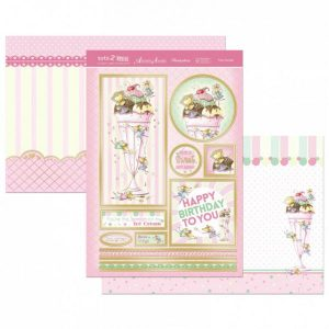 Topper Set Kit Biglietti Cards Scrapbook Decoupage
