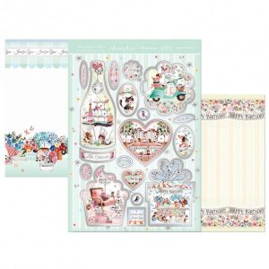 Topper Set Kit Biglietti Cards Scrapbook Decoupage Beautiful Cardmaking Papercraft
