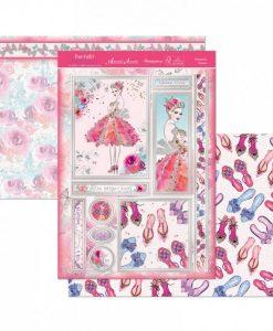 Kit per scrapbooking Topper Set - Dresses To Impress Scrapbook Biglietti Cardmaking Papercraft Hunkydory