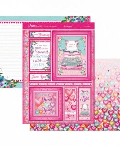 Kit per scrapbooking Topper Set - Love Letters Kit Biglietti Scrapbook Hunkydory Topper Set Italia Carmdmaking Cartoncino Cardstock Papercraft