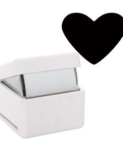 Foratrice Fustella Punch a leva Cuore Heart Smerli Scrapbook Cardmaking Papercraft Inviti Biglietti