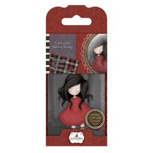 Timbro Stamp Gorjuss Scrapbook Poppy Wood
