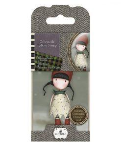 Timbro Scrapbook Gorjuss - Holly Stamp
