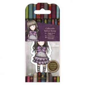 Timbro Stamp Gorjuss Scrapbook Little Violet