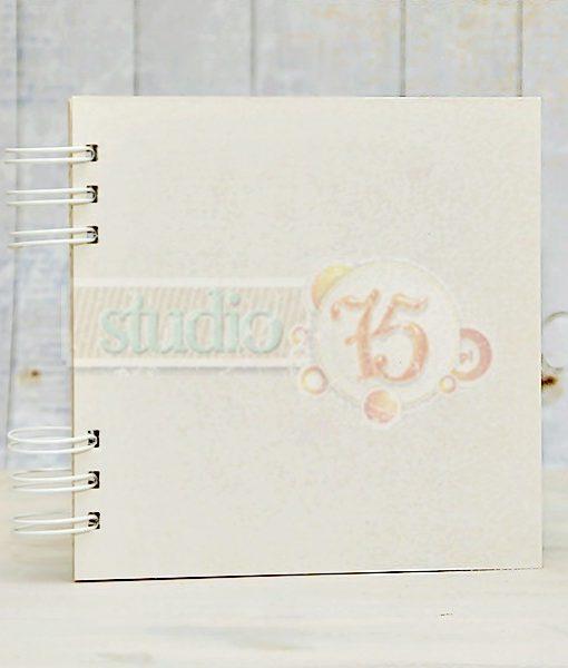 Album Scrapbooking in Chipboard cartoncino Decoupage