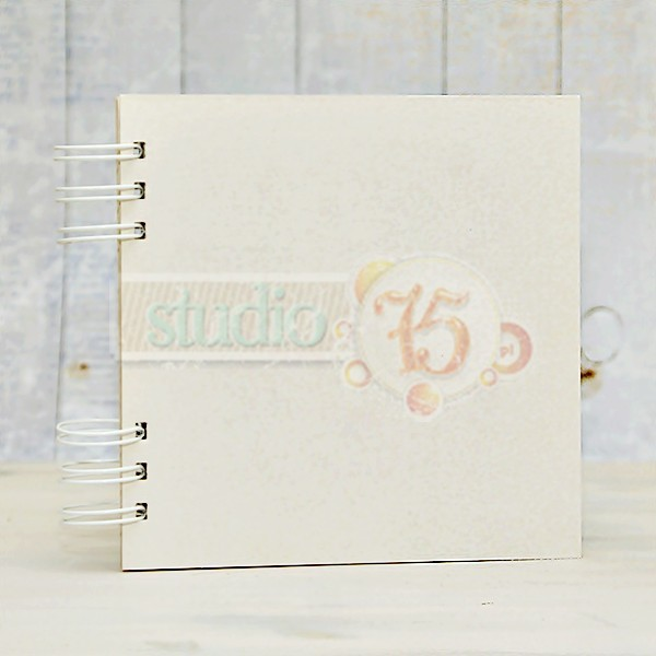 Album Scrapbooking in Chipboard cartoncino Decoupage
