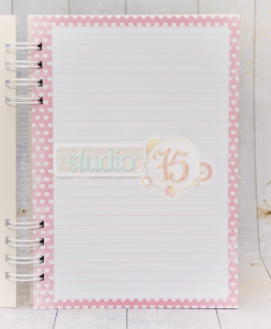 Quaderno Stampato Notebook A5 Scrapbooking Mix Media