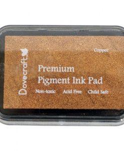Tampone Inkpad Inchiostro Pigmenti Rame