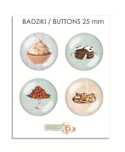 Bottoni Decorativi Adesivi Scrapbooking Mix Media Italia