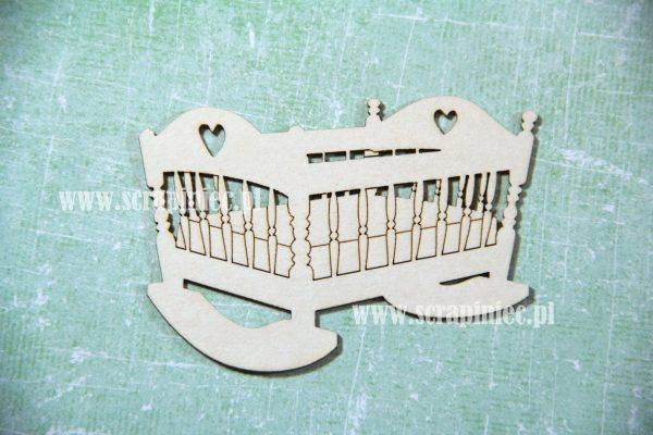 Culla Fustellata Scrapbook Die-cut Chipboard