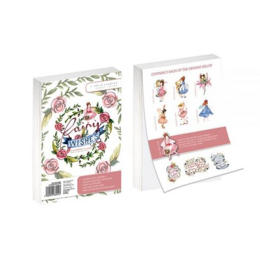 Fairy Wishes A6 Cartoncino Stampato Scrapbooking Fatine
