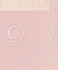 Pink Lace Pion Design Scrapbooking Carta Decoupage