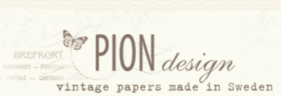 Pion Design Carta Svedese Scrapbook