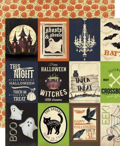 Cartoncino Scrapbooking Halloween Echo Park Italia