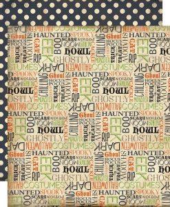 Carta Scrapbooking Halloween Echo Park Italia