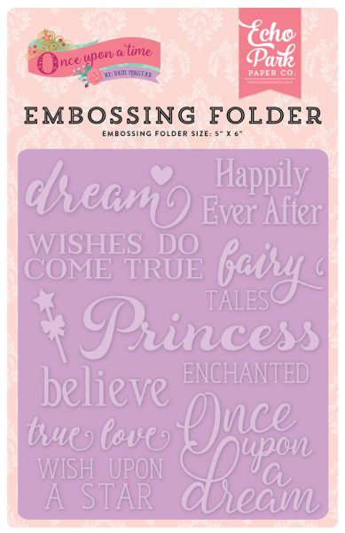 Embossing Folder Italia per Scrapbook