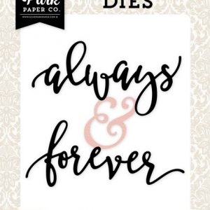 Parole Fustella Always & Forever Scrapbook