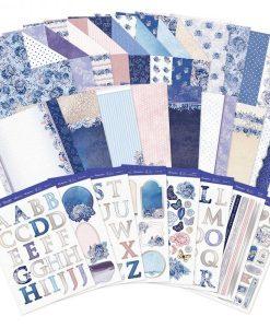 Kit per Cardmaking - Blossoming Blues