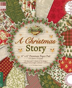 "A Christmas Story - Cartoncino 6x6"" (36 fogli) scrapbooking italia natale carta cartoncino"