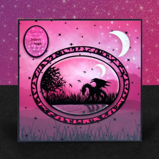 Kit per scrapbooking Topper Set - By the moonlight